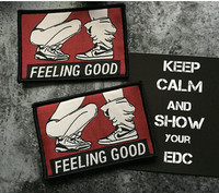 Feeling Good & FBI Warning Patches