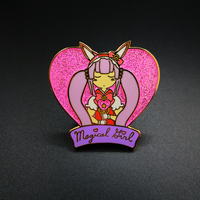 "Gold Plating Hard Enamel Pin-""Magic Fairy"""