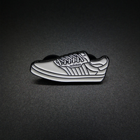 "Authorized Brand Logo Soft Enamel Pin ""adidas"""