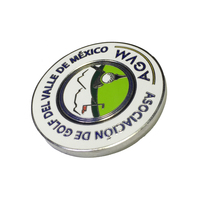 Customized nickle plating enamel badge